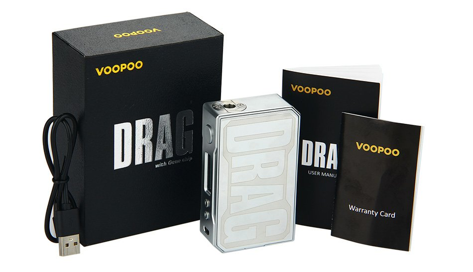 VOOPOO DRAG 157W TC Box MOD W/O Battery