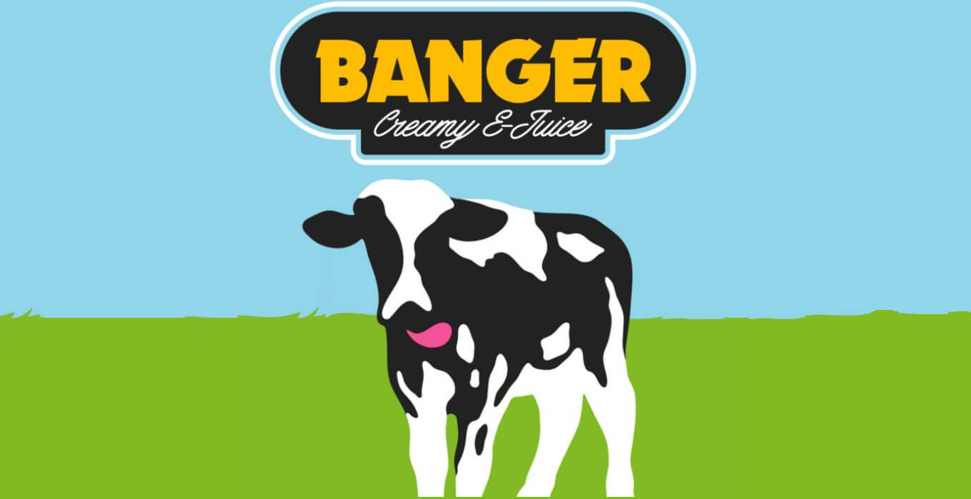 Líquido Banger Creamy E-juice - Strawberry Chunks