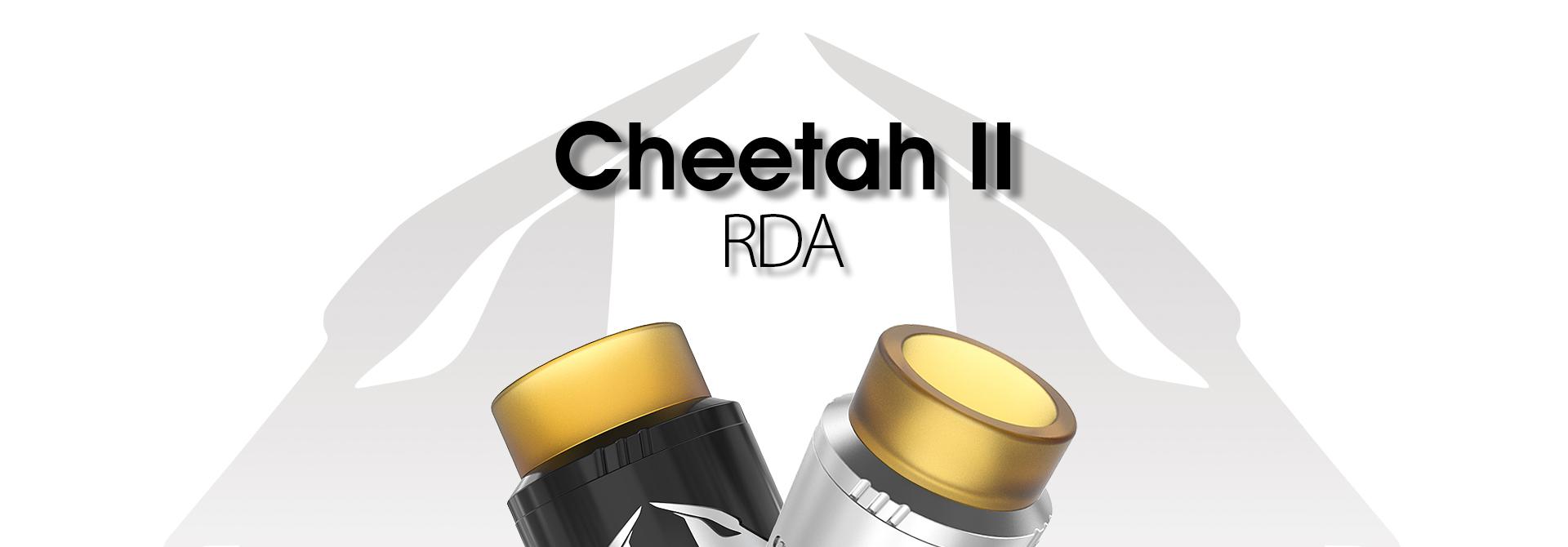 Atomizador Cheetah II RDA - OBS