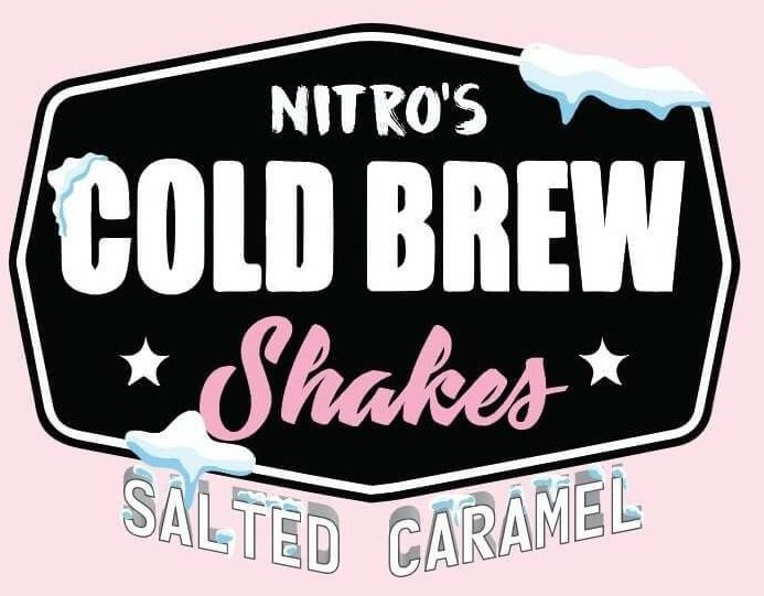 Líquido Nitro's Cold Brew Shakes - Strawberi & Cream​