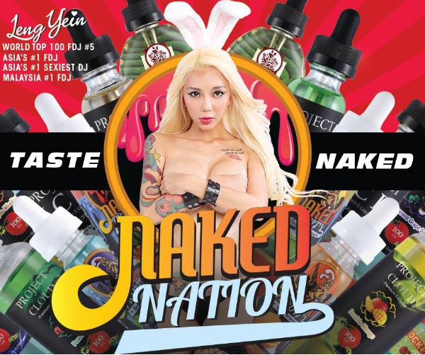 Líquido Project Cloud |  Pineapple Mix Fruits - Naked Nation​