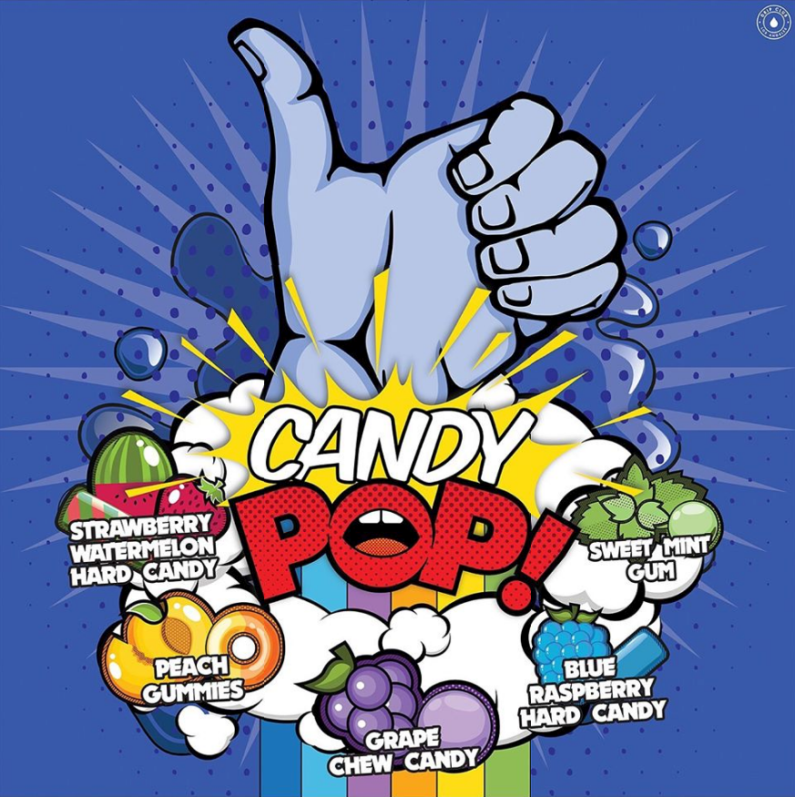 Líquido Candy POP! - Grape Chew Candy​