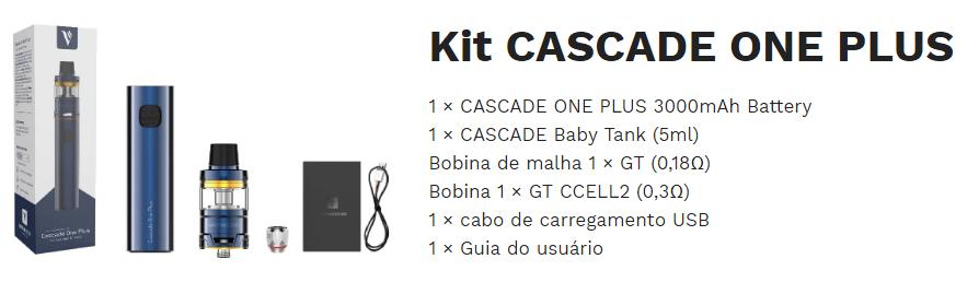 Kit Cascade One Plus - Vaporesso