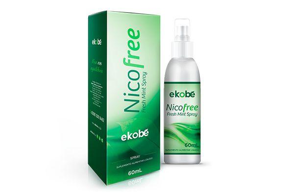 NicoFree Spray - Ekobé 60 ml