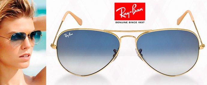 41b01d85b6c97 Óculos Ray Ban Azul Degradê   Produto Primeira Linha Lente Cristal  Polarizada Cor  Azul Degradê   Haste Dourada Nome Rayban Gravado na Lente -  Modelo ...