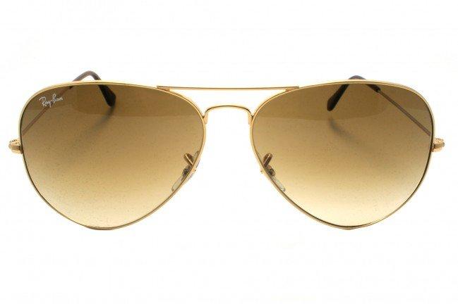 a947be3e6bc99 Óculos Ray Ban Marrom Degradê   Produto Primeira Linha Lente Cristal  Polarizada Cor  Marrom Degradê   Haste Dourada Nome Rayban Gravado na Lente  - Modelo ...
