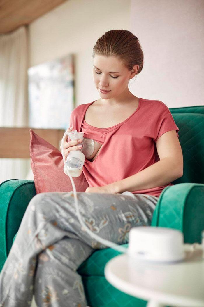 extrator de leite eletrico avent