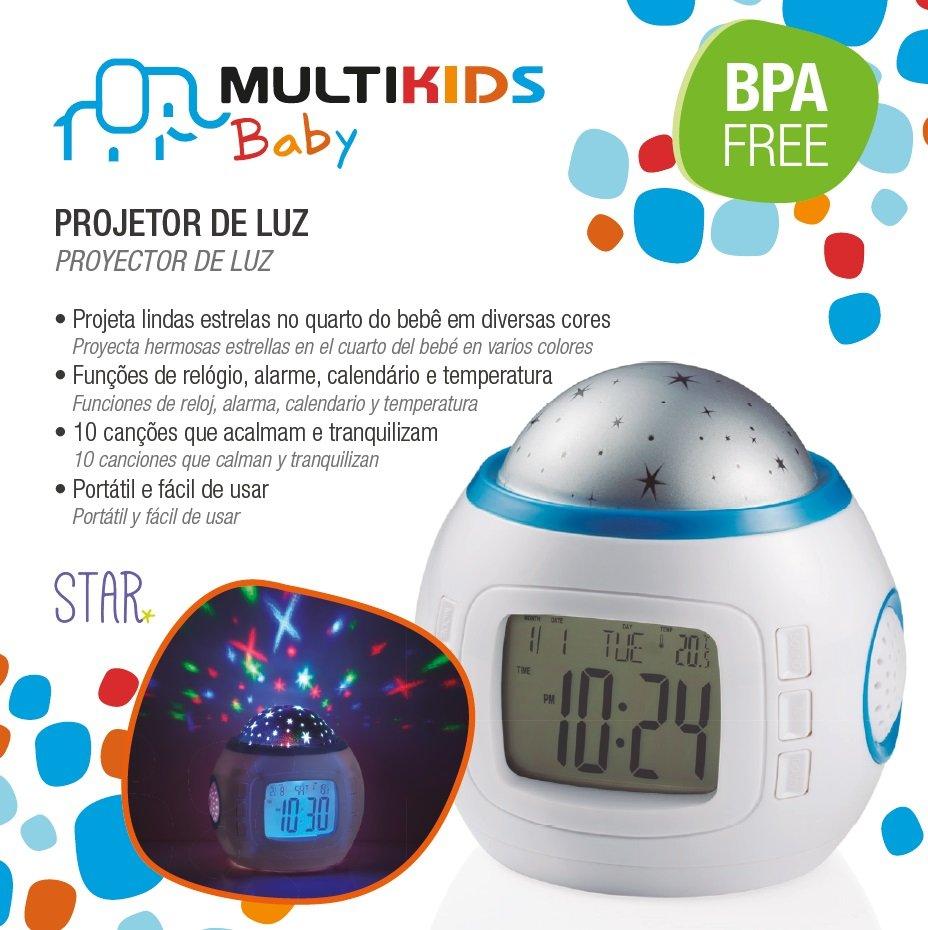 Projetor de Luz Multikids Baby