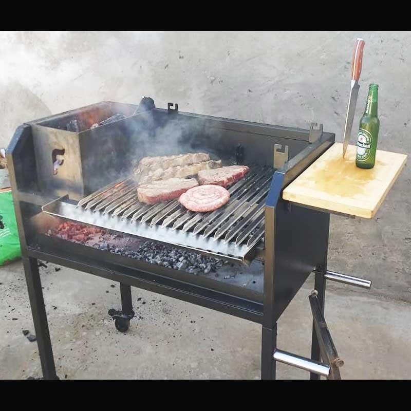 Parrilla flamebox - churrasqueira gourmet  grelhados