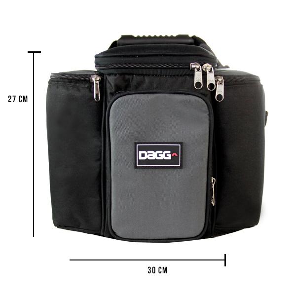 e3831e6a681 Bolsa térmica fitness cinza esverdeado G - Dagg - Bolsas Térmicas ...