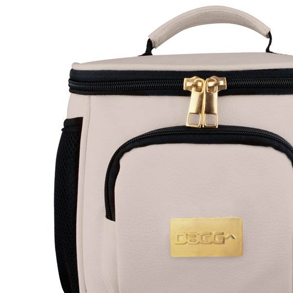 Bolsa Térmica Dagg Premium Couro Branca