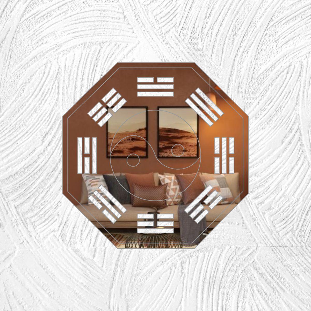 FENG SHUI - Produzido em acrílico espelhado