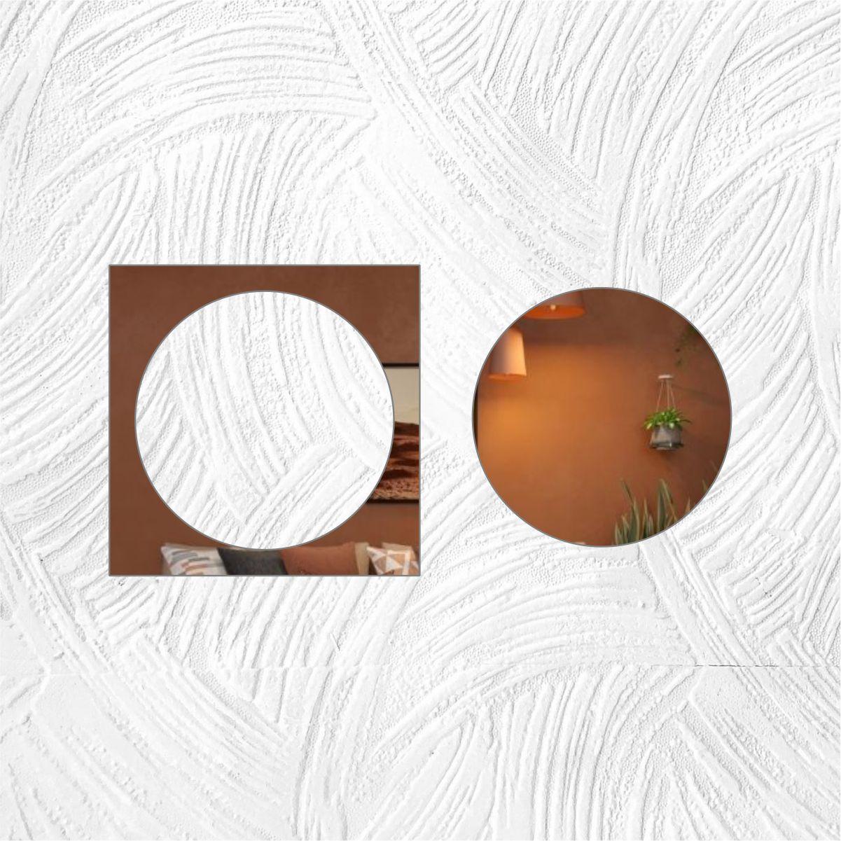 Geometrico - Produzido em acrílico espelhado