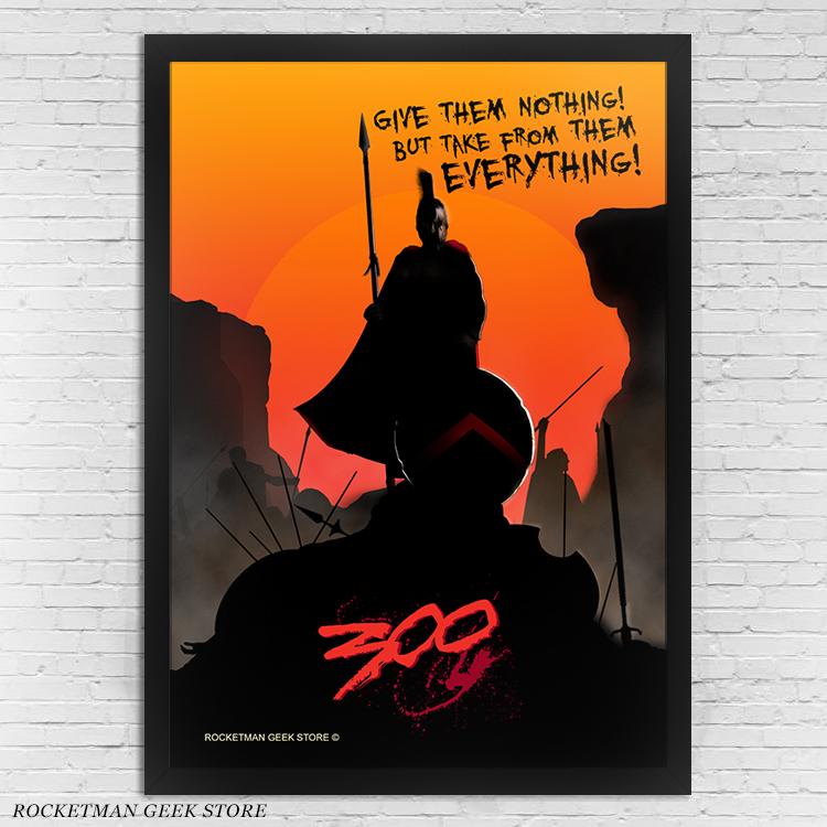 Poster 300 Esparta Loja Rocketman