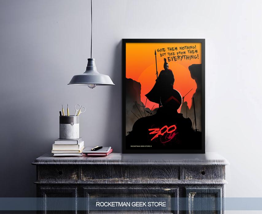 Poster 300 de Esparta Loja Rocketman