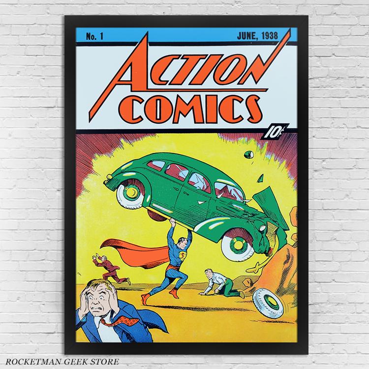 Poster Superman n1 Loja Rocketman