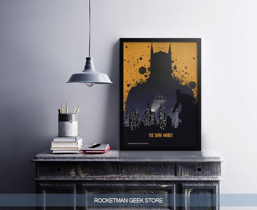 POSTER BATMAN DARK KNIGHT LOJA ROCKETMAN
