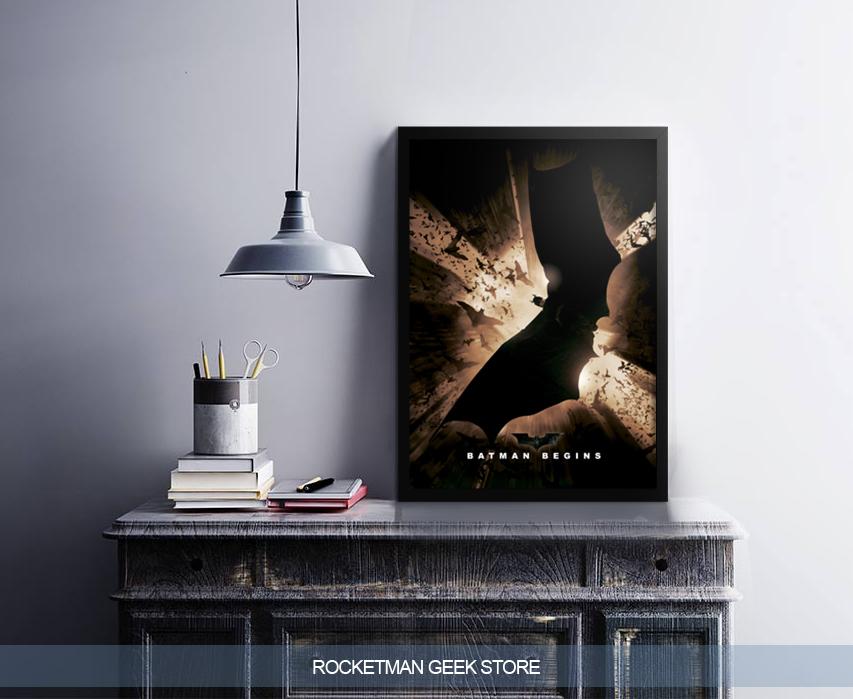 Poster Batman Begins www.lojarocketman.com.br 2