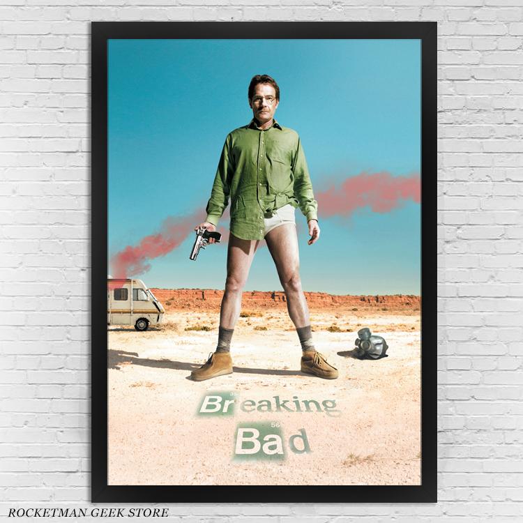 Poster Breaking Bad Loja Rocketman