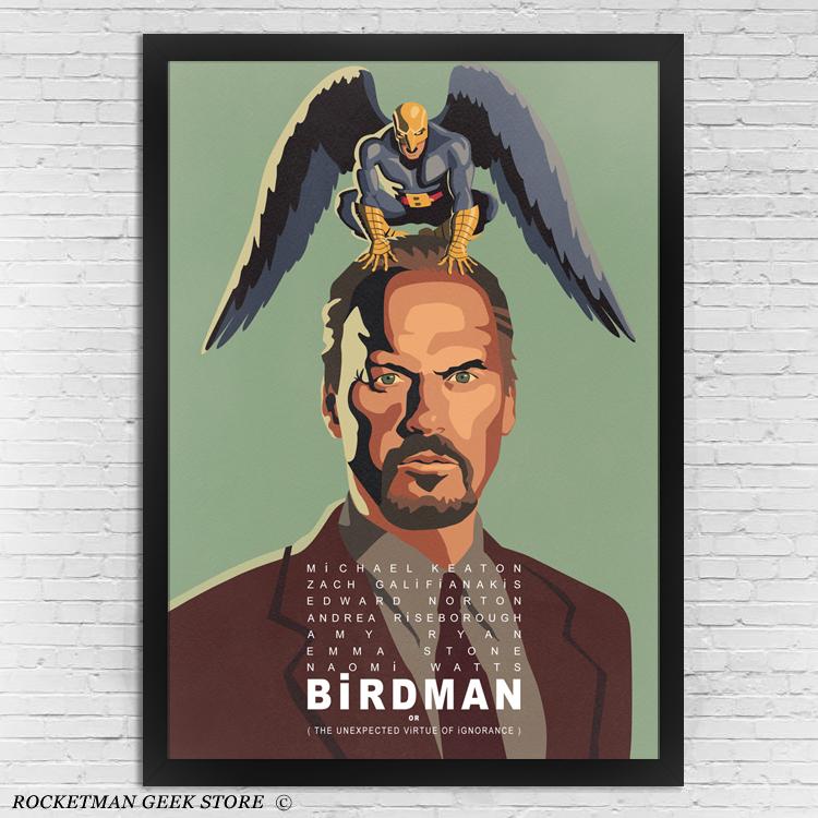 Poster Birdman www.lojarocketman.com.br
