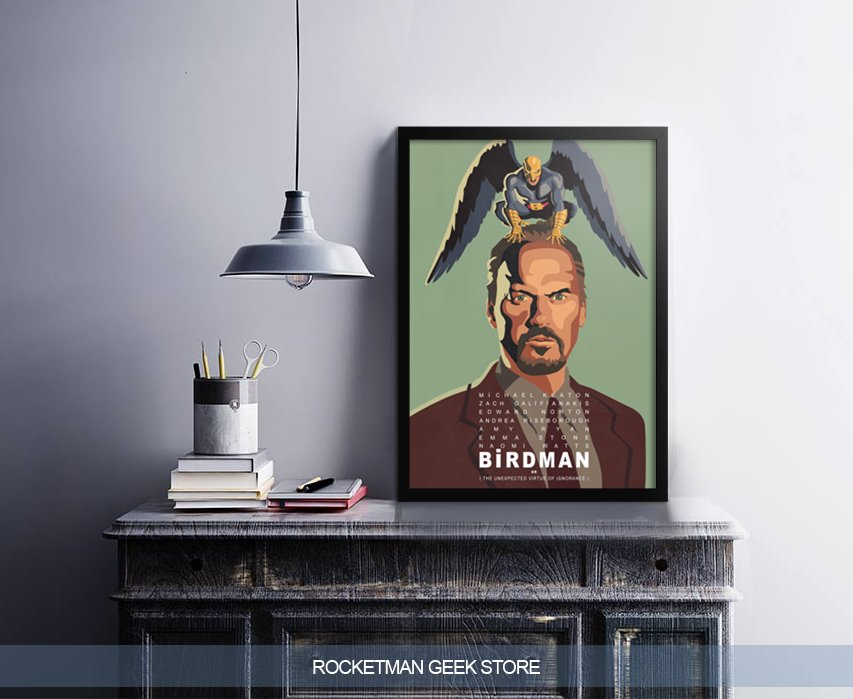 Poster Birdman www.lojarocketman.com.br 2