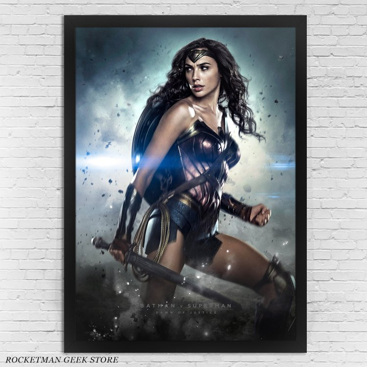 Poster Mulher Maravilha BvS Loja Rocketman