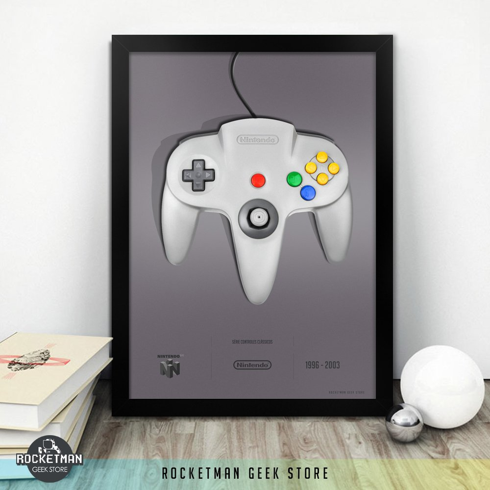 Poster Controle N64