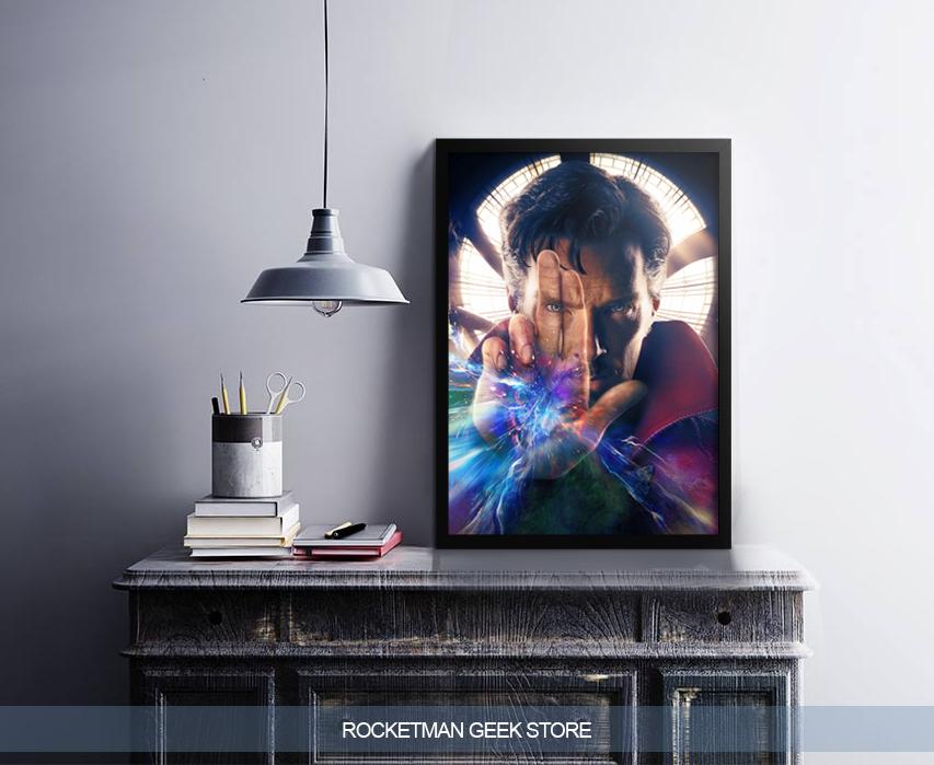 Poster Doutor Estranho Loja Rocketman 2