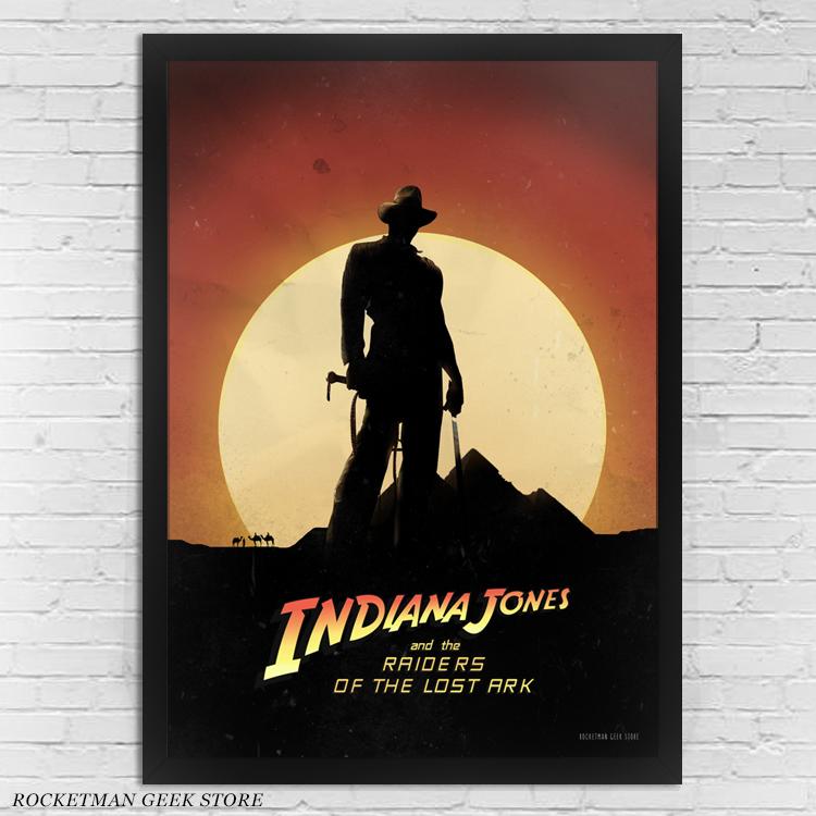 Poster Moldura Indiana Jones Arca Perdida Loja Rocketman