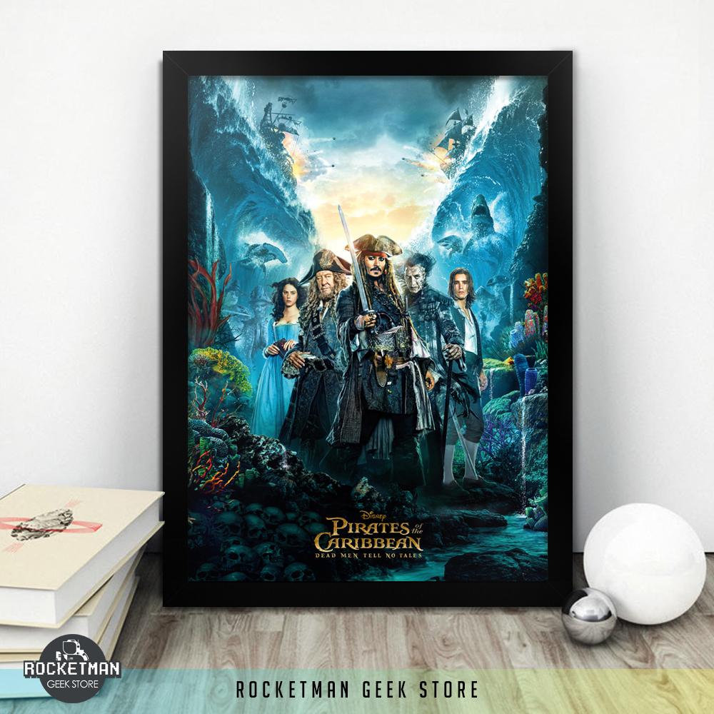 Poster Piratas do Caribe A Vingança de Salazar Loja Rocketman