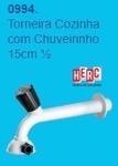 TORNEIRA COZINHA COM CHUVEIRINHO 15CM 1X2 (HERC)