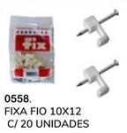FIXA FIO 10X12 COM 20 UNIDADES