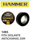 FITA ISOLANTE ANTICHAMAS 20M