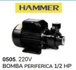BOMBA PERIFERICA 1.2 HP (220V) ( HAMMER )