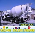Concreto Usinado Direto da Usina (mínimo 3 metros cúbicos)