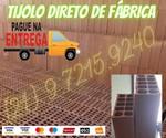 Tijolo (20 X 30 e 20 x 20) 10  Furos Direto de Fábrica Rio de Janeiro