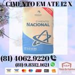 REVENDEDOR AUTORIZADO CIMENTO NACIONAL CP 2 (81) 4062.9220 / 9.8312.1621 (WHATSAPP)