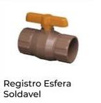REGISTRO ESFERA SOLDAVEL (KRONA)