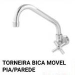 TORNEIRA BICA MOVEL PIA PAREDE