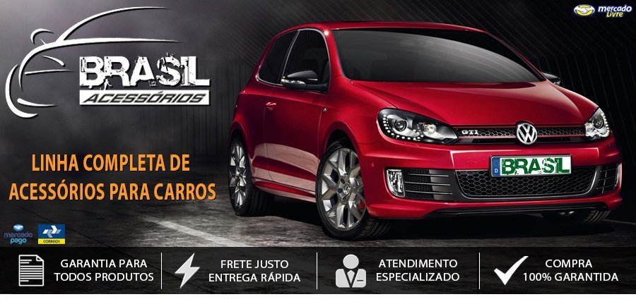 banner brasil acessorios carro