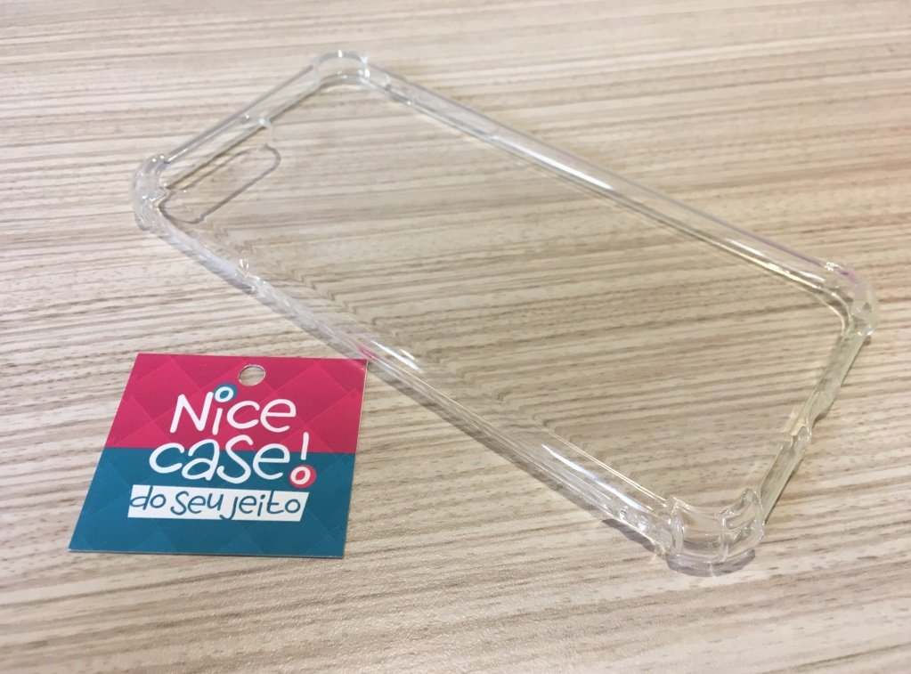 Capinha para iPhone 7 Plus - Anti Impacto Transparente.