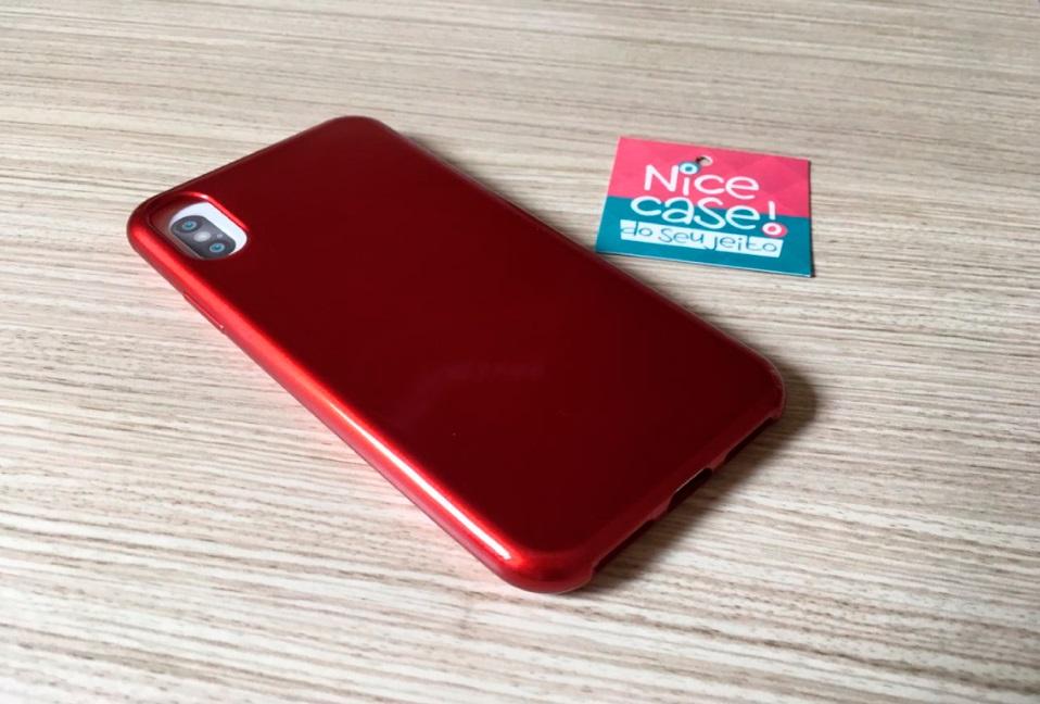 Capinha para iPhone 8 - Glow Red vermelha