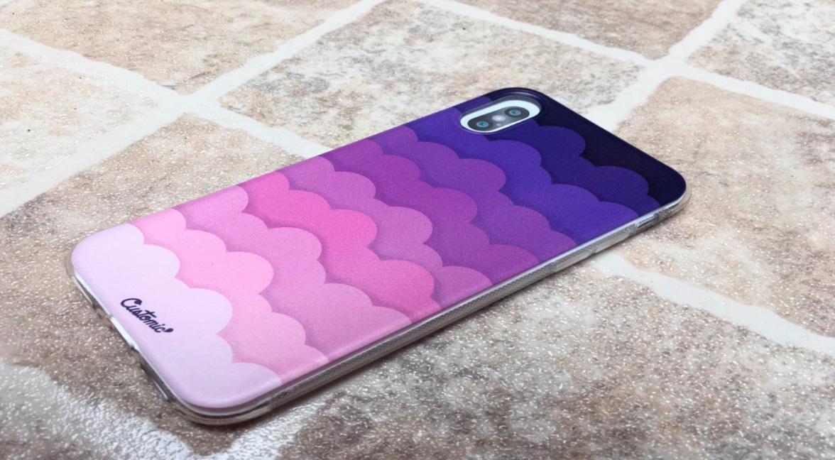 Capinha para iPhone Xr - Feminina - Pink Clouds