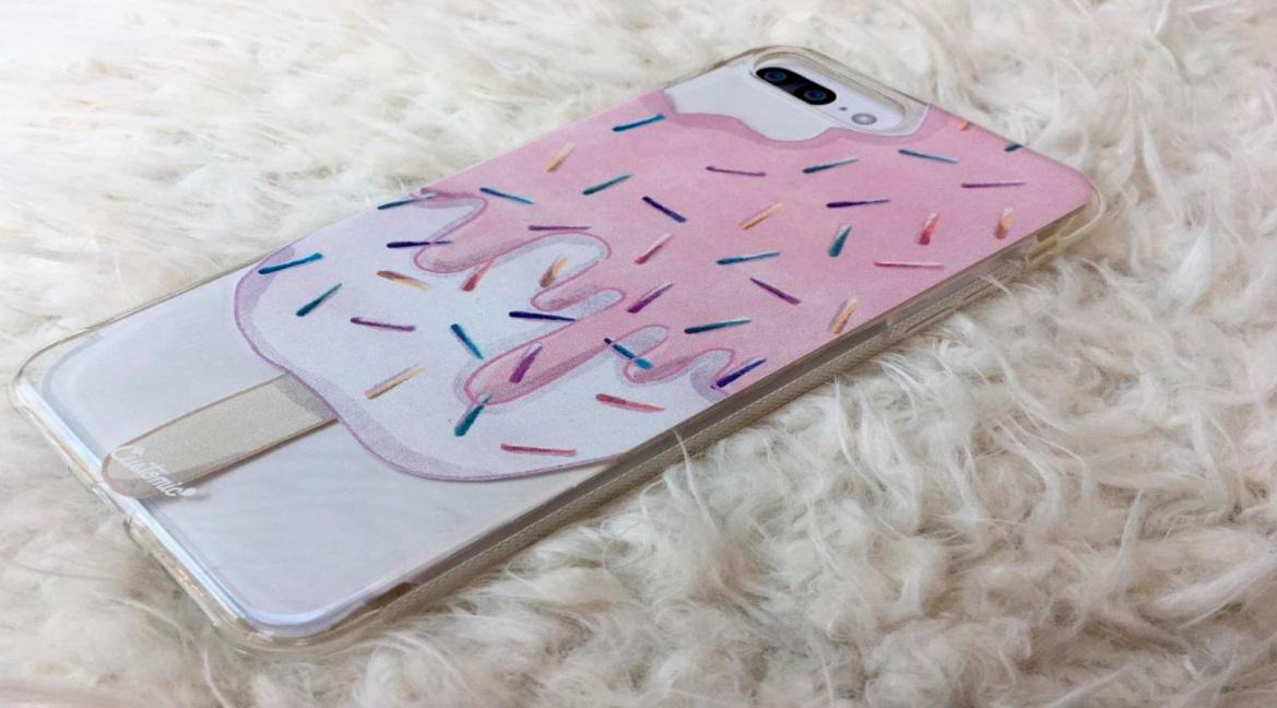 Capinha para iPhone 6s Plus - Feminina - Geladinho