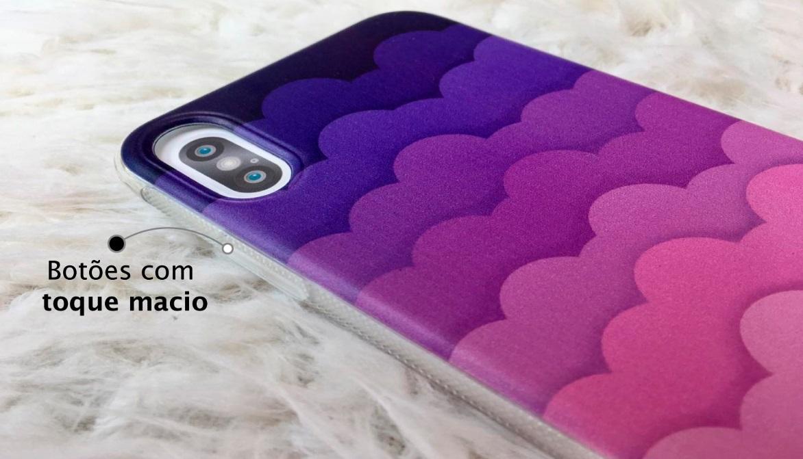 Capinha para iPhone 7 - Feminina - Pink Clouds