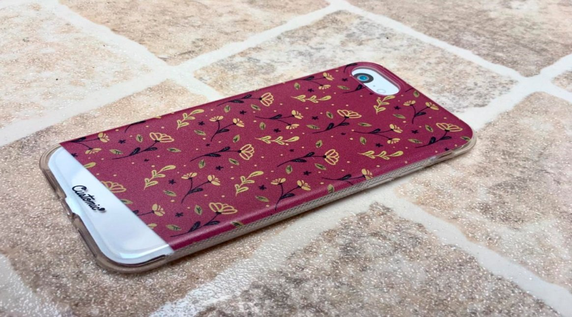 Capinha para iPhone 8 - Feminina - Golden Roses