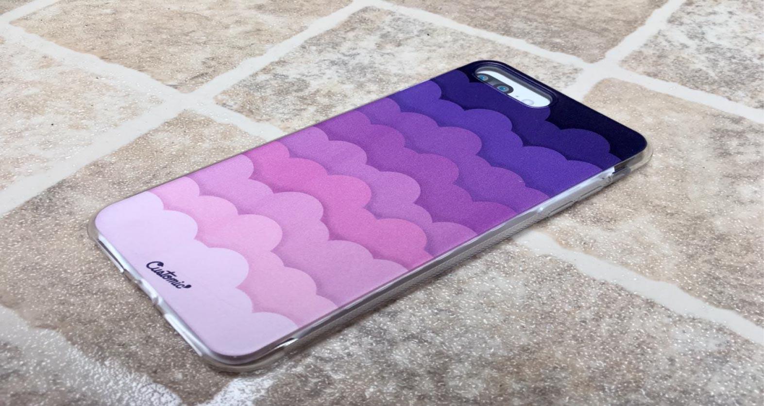 Capinha para iPhone 8 Plus - Feminina - Pink Clouds