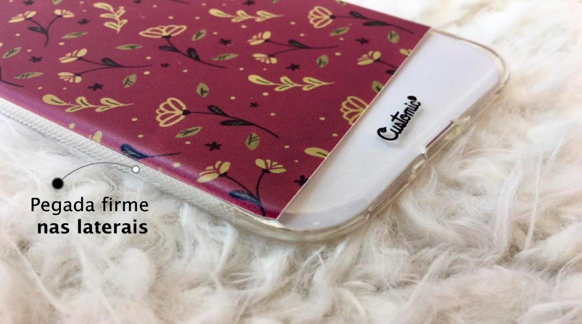 Capinha para iPhone 5s - Feminina - Golden Roses