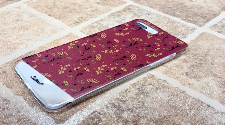 Capinha para iPhone 7 Plus - Feminina - Golden Roses