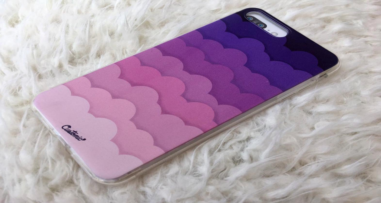 Capinha para iPhone 7 Plus - Feminina - Pink Clouds